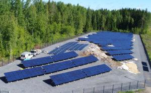 ESE aurinkovoimala Pitkäjärvi
