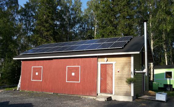 5.2 kW aurinkovoimala
